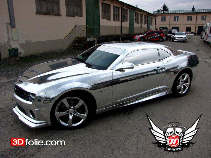 3D folie na auto